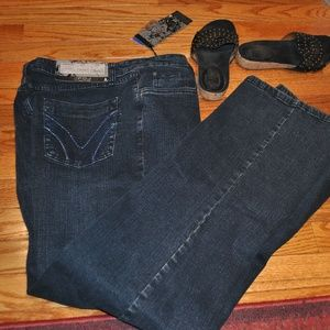French dressing jeans nwt size 14